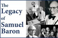 The Legacy of Samuel Baron